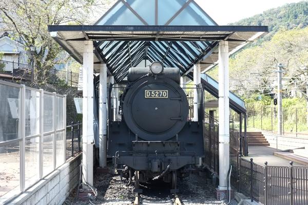山北鉄道公園のD52蒸気機関車