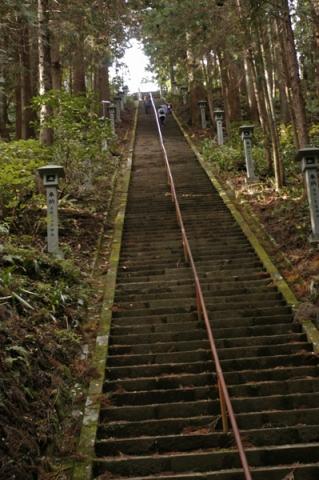 大雄山最乗寺奥の院の階段