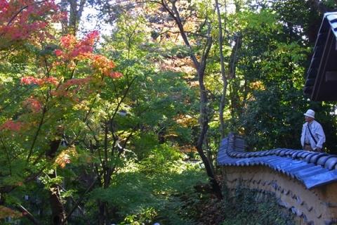 松永記念館の紅葉