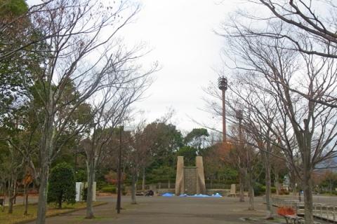 小田原上府中公園正面