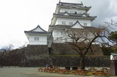 12月の小田原城