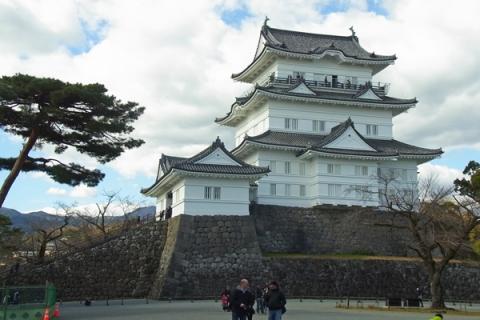 2月の小田原城