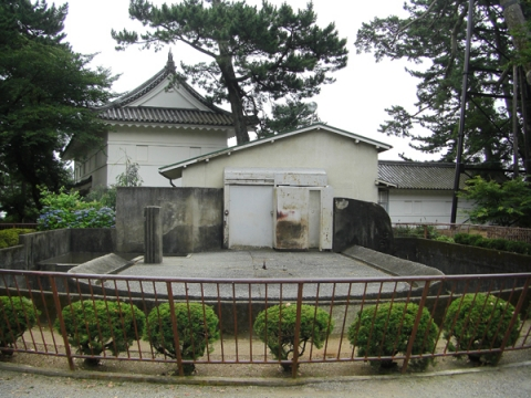 小田原城動物園ウメ子のいた象舎