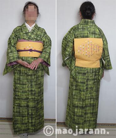 11-06緑色紬とお花03