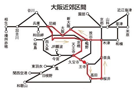 0 ルート図