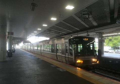 13 新大阪から尼崎駅へ向かう