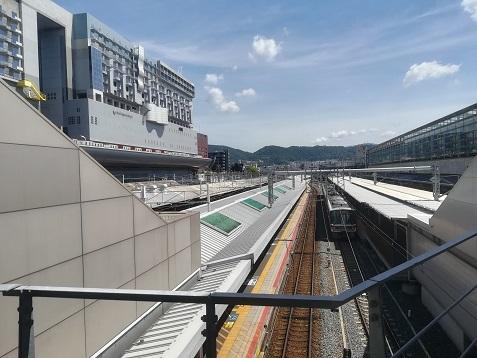 5 京都駅に到着