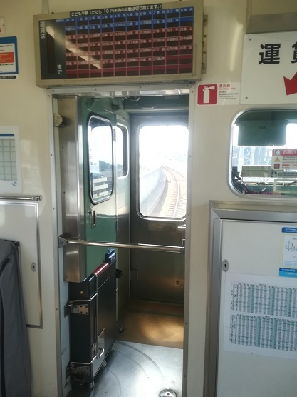 2 奈良駅へ到着寸前