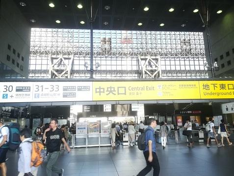 6 京都駅・中央改札口