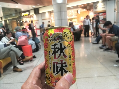 9 新大阪駅 缶ビール