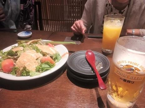 9 食事 ビール