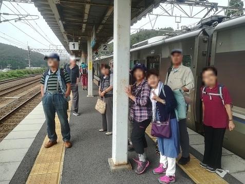 12 近江塩津駅で乗り換え