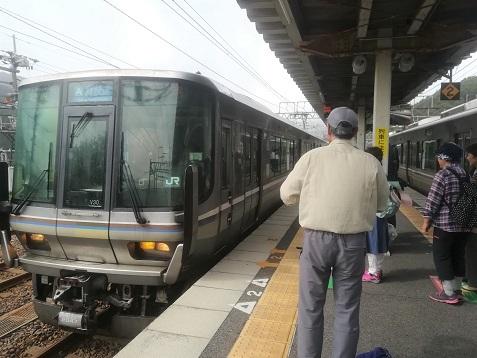 13 網干行き 新快速列車が来た
