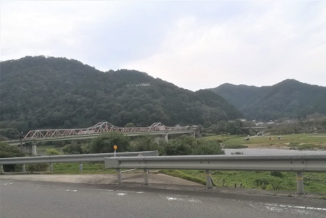 3 笠置から木津川を渡って柳生へ向かう