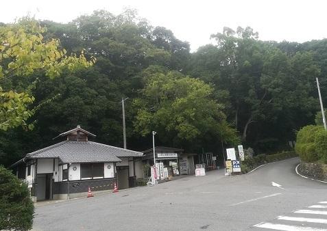 9 伊賀上野の駐車場へ到着