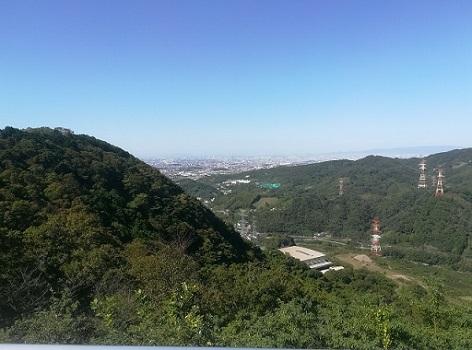 10 下山は、大阪・河内堅上方面