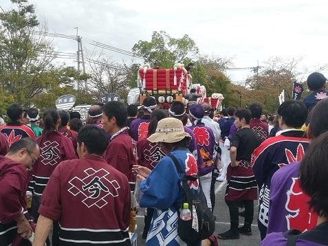 3 龍田大社の秋祭り