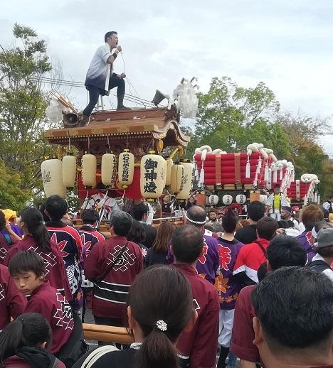 4 龍田大社の秋祭り