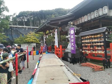 8 龍田大社の本殿
