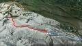 28 安達太良山 山行ルート図 グーグルアースjpg