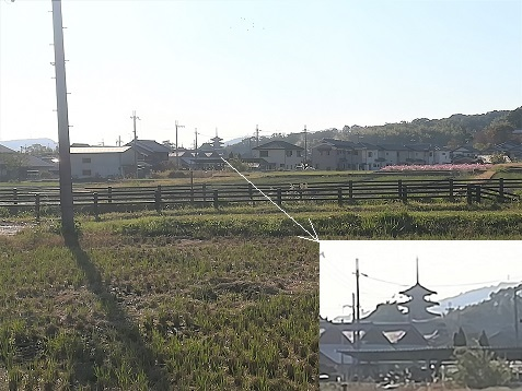 4 法隆寺遠望