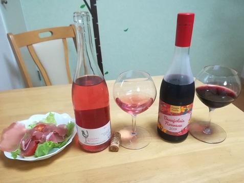 3 ワインを開けた