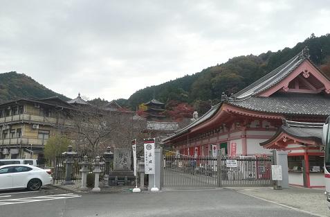 1 壷阪寺 到着