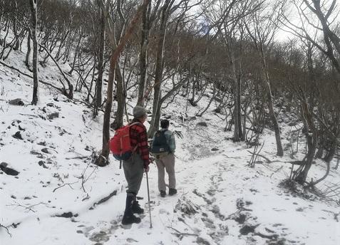 7s 積雪の中を進む