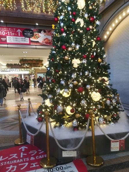 1 天王寺駅のクリスマスツリー