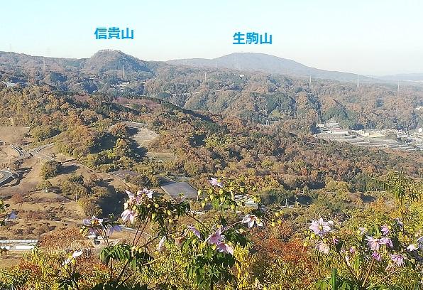 14 信貴山方面の景色