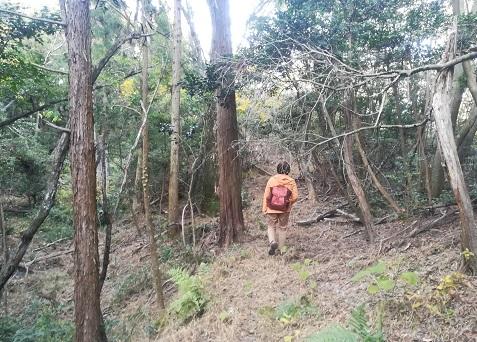 10 正規の登山コースに合流前