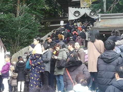 9 往馬大社の参詣階段
