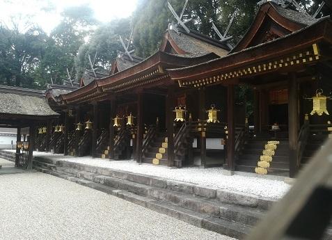 12 往馬大社の本殿
