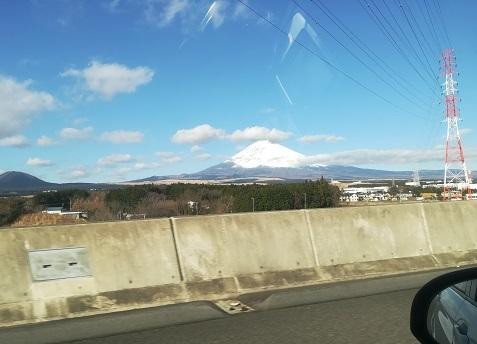 3 富士山が綺麗に見えた