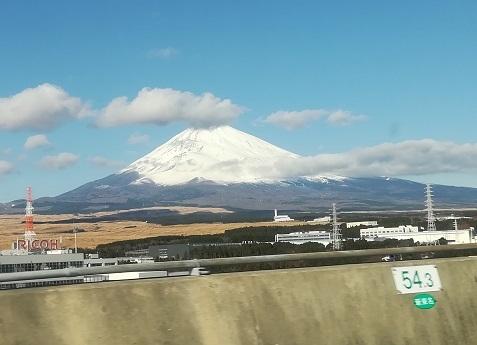 4 富士山が綺麗に見えた