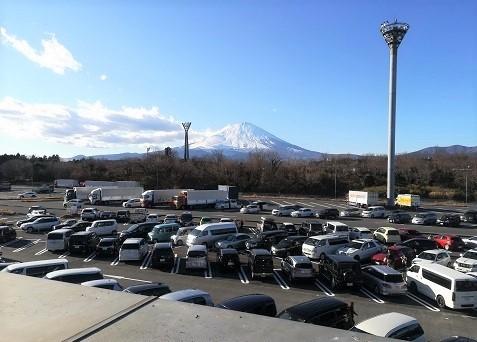 11 足柄SAから富士山の遠望