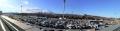 13 足柄SAから富士山の遠望 パノラマ写真 大