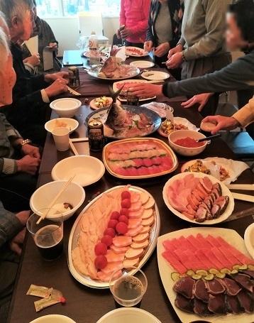 3 新年会の料理