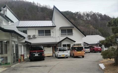 10 木曽福島スキー場のペンションに到着