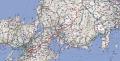 10 木曽福島スキー場→自宅 ルートマップ
