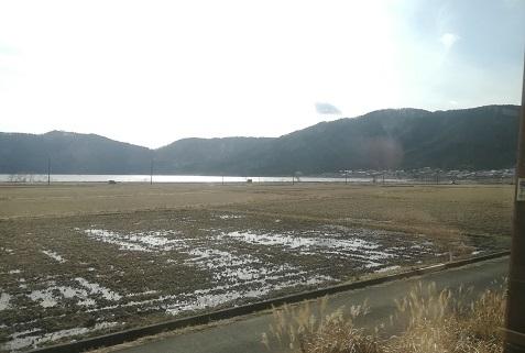 13 余呉湖が見えた
