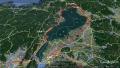 26 琵琶湖付近拡大 一周 コース地図  グーグルアース