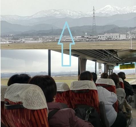 5 送迎バス車内の景色