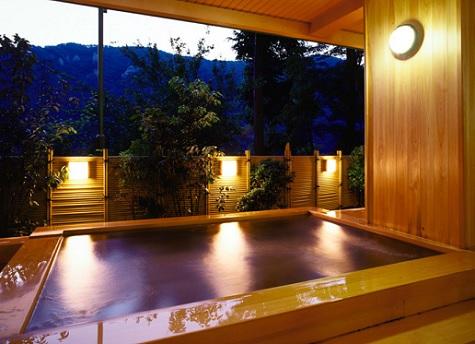 22 宿泊ホテルのHPより 風呂の一部