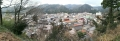 19 医王寺近くからの山中温泉の景色の一部 パノラマ写真 大