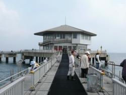 10月16日 桟橋
