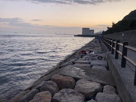 11月6日 関門塩水プール下