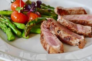 肉と野菜の料理