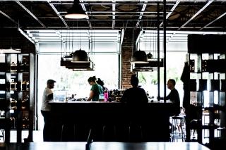 レストランの風景