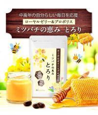 ミツバチの恵み とろりのパッケージ